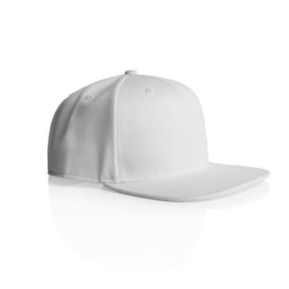 Low profile snapback cap