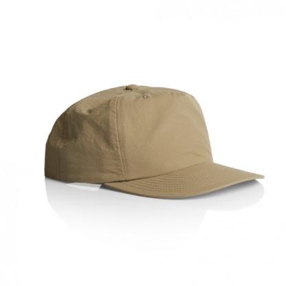 Lower profile surfer cap