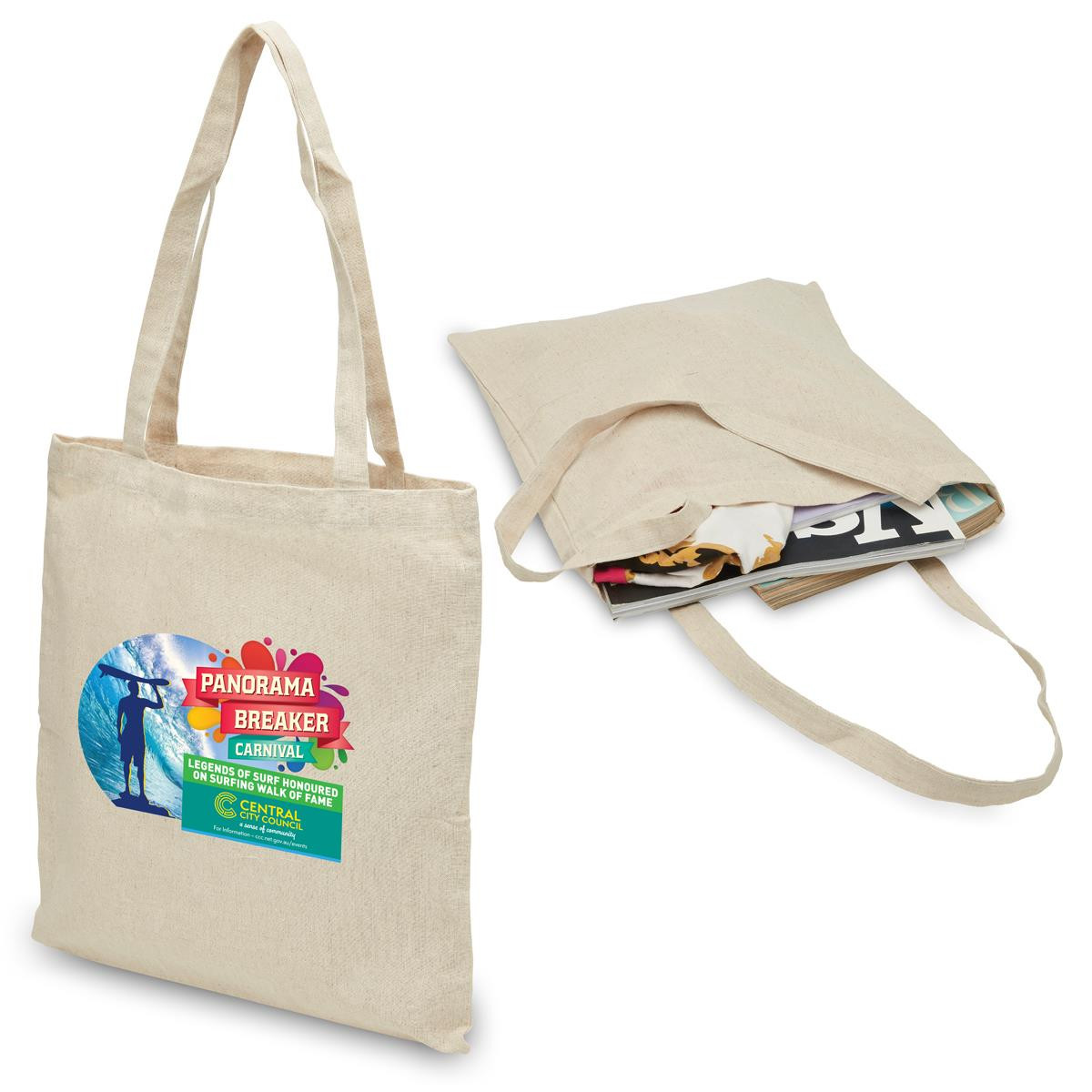 Hemp Tote Bag Bags Promo Products Aussie Gold