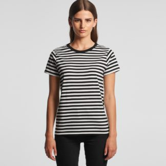 ladies stripe tee