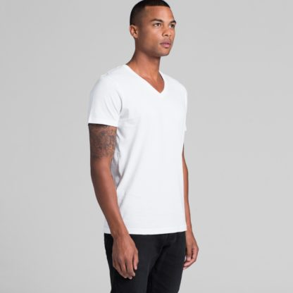 Cotton t-shirt with V neck