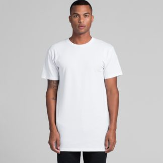 Cotton T-shirt extra long in length