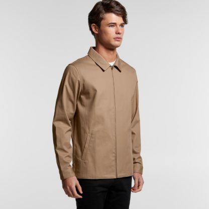 jacket with collar and zip