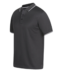 Textured Polyester Polo