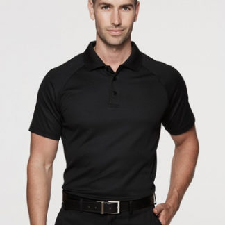 Plain cotton back polo