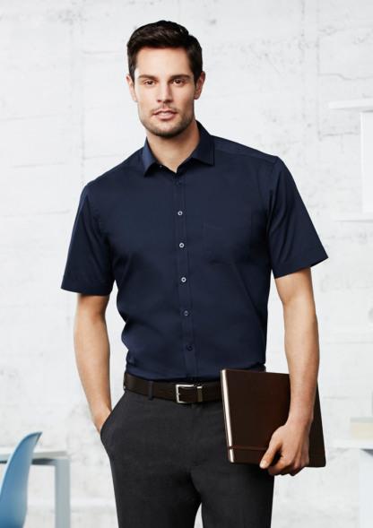 Mens Short sleeve business shirt