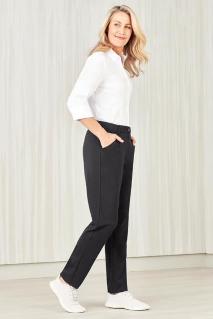 Comfort waist slim leg pant