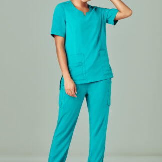 Scrub pants slim fit