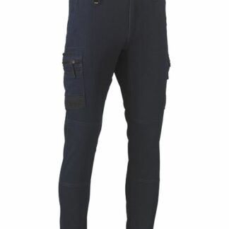 bisley flex & move denim cargo cuffed pants