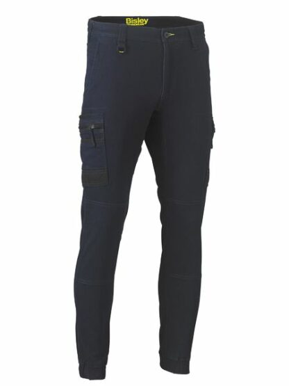 bisley flex & move denim cargo cuffed pants