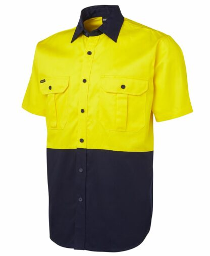 Hi Vis 190g hi vis shirt 2 tone