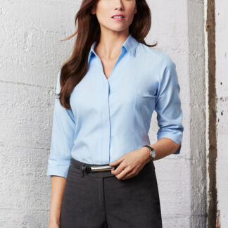 Biz Collection Ladies Preston 3/4 Sleeve Shirt