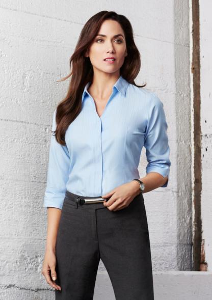 Biz Collection Ladies Preston 3/4 Sleeve Shirt