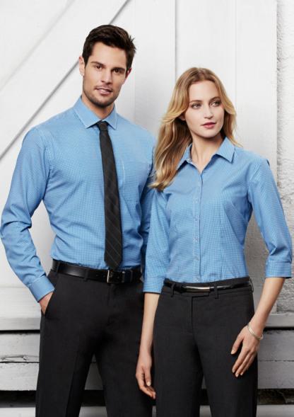 Biz Collection Mens ellison long sleeve shirt