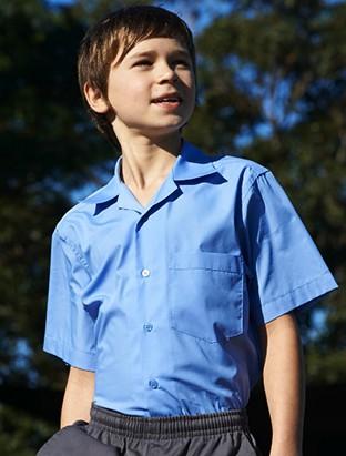 Kids school shirt button up