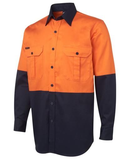 JBs Hi Vis 190G heavy weight shirt